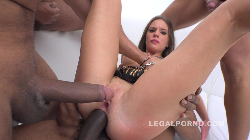 Lita Phoenix interracial 4on1 DP RS148